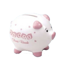 My First Piggy Bank - Pink Image