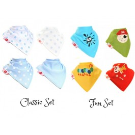 Bibs For Boy (Pack of 4) by Zippy Baby Image