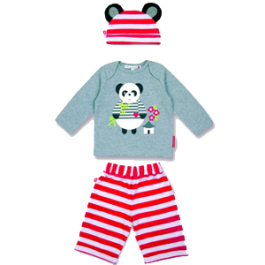 Classic Day Set Perry The Panda 1-2 Years Image