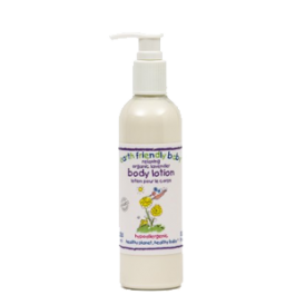 Organic Lavender/Chamomile Baby Body Lotion  Image