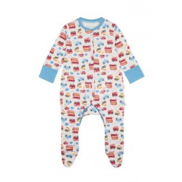 Frugi 100% Organic Babygrow Baby Boy Image