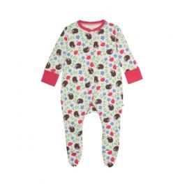 Frugi 100% Organic Babygrow Baby Girl Image