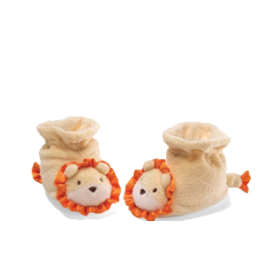 Baby Lion Booties Image