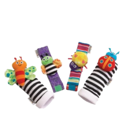 Lamaze Wrist Rattle and Footfinder Set Image