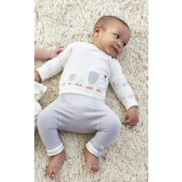 Natures Purest My First Friend Top & Trousers 0-3 Months Image