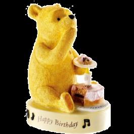 Winnie The Pooh Happy Birthday Figurine Image