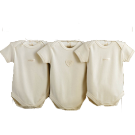 Hug Me Bear Organic Bodysuits by Natures Purest (3-6 months) Image