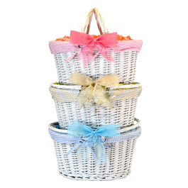 White Shopper Basket Image
