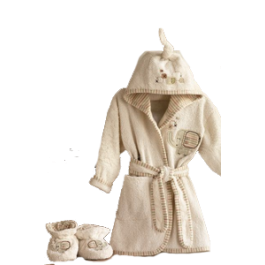 Sleepy Safari Bathrobe & Slippers Image