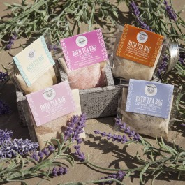 Bath Salt Tea Bag by Wild Olive Image