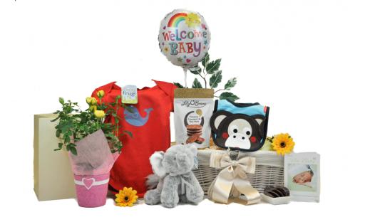Blooming Baby Gift Basket