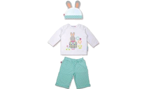 Classic Day Set - Betty The Bunny (1-2 Years)