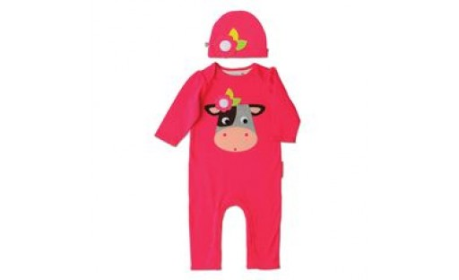 Colette the Cow Playsuit and Hat