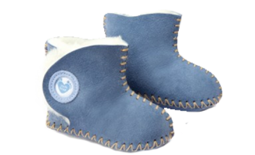 Cwtch Sheepskin Blue Boots