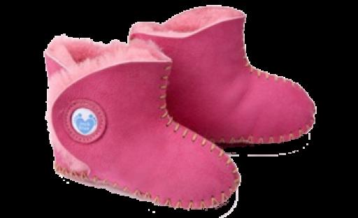 Cwtch Sheepskin Pink Boots