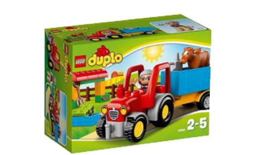 LEGO DUPLO Town Farm Tractor