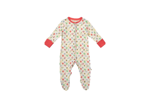 Lovely Baby Grow Animal Alphabet by Frugi Organics