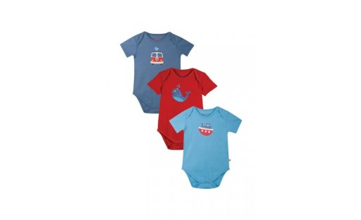 Frugi Super Special Tug Boat Body Suit