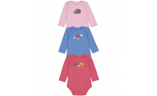 Frugi Organic Long sleeved Body suits