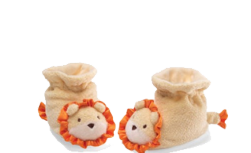 Baby Gund Lion Booties