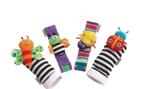 Lamaze Wrist Rattle and Footfinder Set