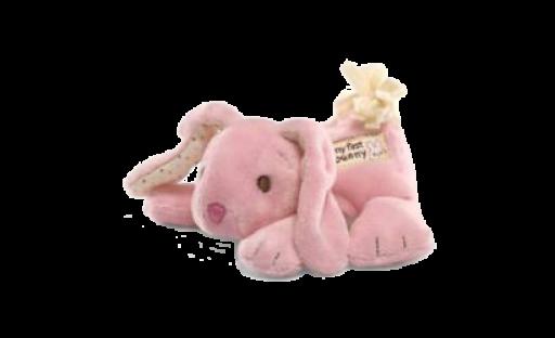 """Gund """"My First Bunny"""" Pink"""