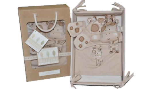 Sleepy Safari Layette Gift Set