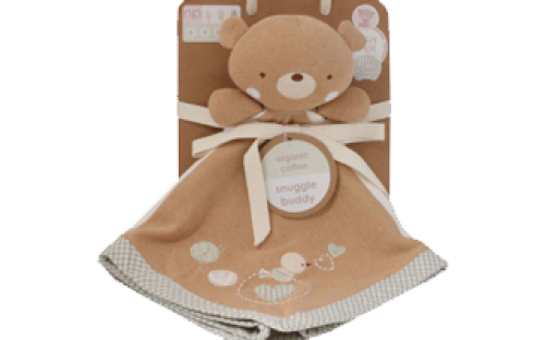 Teddy & Ele Teddy Large Comforter Snuggle Blankie