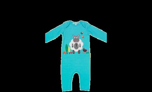 Frugi Loris Lamb Playsuit