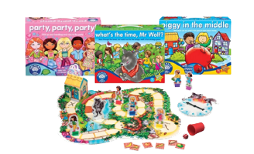 Orchard Toys Boardgames 5-9
