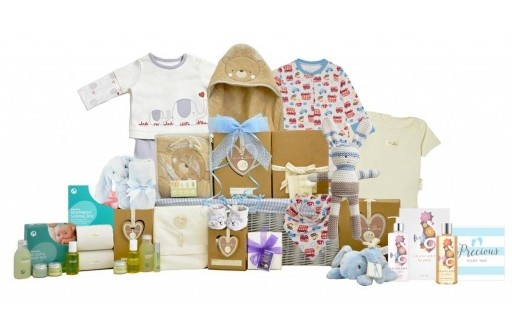 Baby Organic Family Boy Basket