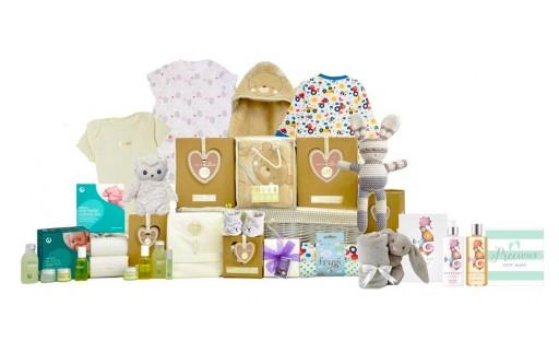 Baby Organic Family Basket - Unisex