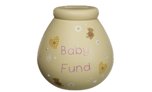 Pot of Dreams 'Baby Fund' Money Pot