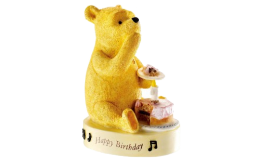 Classic Pooh Happy Birthday