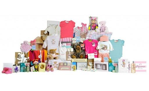 Regal Baby Girl Gift Basket