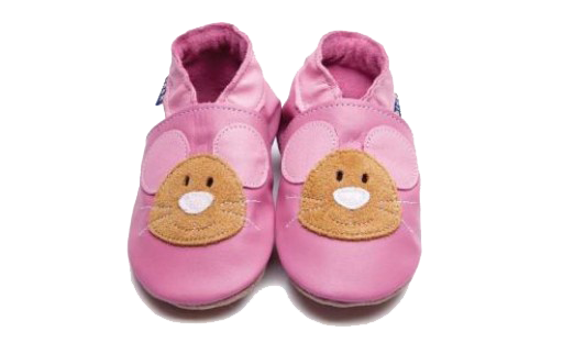 Squeak Rose Pink/Tan Shoes