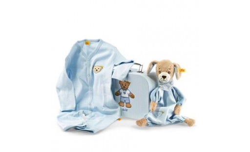 Good Night Dog Comforter Gift Set By Steiff
