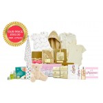 Earth Friendly Baby Girl Gift Basket