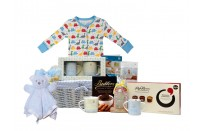 Mummy & Me Deluxe Baby Boy Gift Basket by Basketsgalore UK
