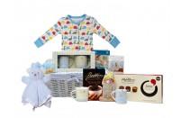 Mummy & Me Deluxe Baby Boy Gift Basket by Basketsgalore UK