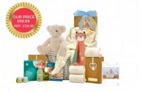 Organic Baby Boy Gift Basket
