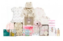 Purely Organic Baby Girl Gift Basket