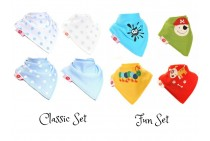 Bibs For Boy (Pack of 4) by Zippy Baby