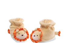 Baby Lion Booties