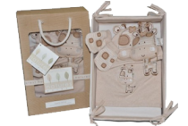 Natures Purest Jungle Safari Layette Gift Set