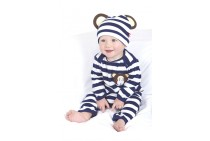 Michael the Monkey Playsuit and Hat (0-6 months)