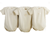 Hug Me Bear Organic Bodysuits by Natures Purest (3-6 months)