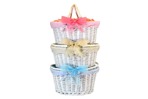 White Shopper Basket