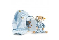 Steiff Good Night Dog Comforter Gift Set