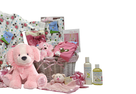 Baby Girl's Gift Basket